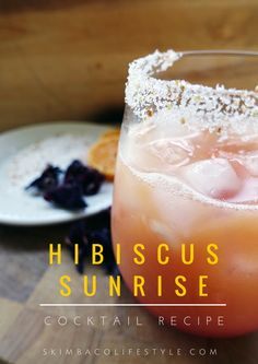 Hibiscus Sunrise Cocktail  2 ounces of tequila infused with rokz Wild Hibiscus Infusion  4 ounces of orange juice  1 Tbl of grenadine for added color