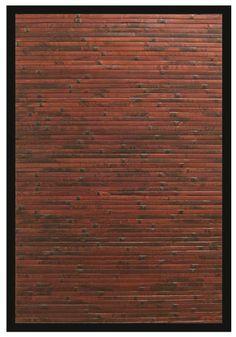 RugStudio presents Anji Mountain Bamboo Cobblestone Area Rug