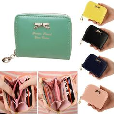 Women's Purse 2016 Dollar Price Purse Clutch Women Wallets Short Small Bag PU Leather Female Purses For Coins carteras mujer