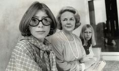 Joan Didion with her daughter and Abigail McCarthy, Washington, D.C., 1977 (Teresa Zabala/The New York Times/Redux)