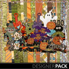 We know it's a little early for Halloween but, it's this too cute of a kit?!? #Digioverdose #Craft #DIY #Scrapbook #Digital #Twitchery_stitchery