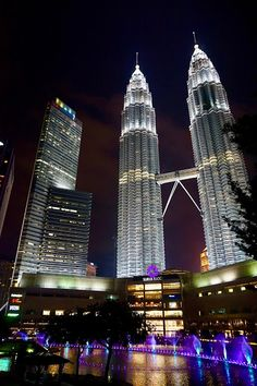 The Petronas Towers, Kuala Lumpur |  How we spent a day in KL