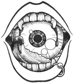 Taste of Sight Tattoos 3d, Neue Tattoos, Tattoo Drawings, Cool Drawings, Body Art Tattoos, Pencil Drawings, Art Et Design, Desenho Tattoo, Dark Art