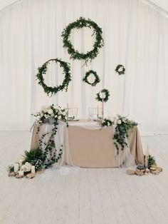 Президиум, свадьба в стиле ботаника