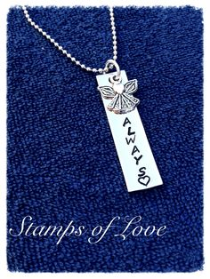 Grief necklace www.stampsoflove.com