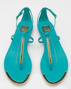 Dolce Vita sandals in summer color.