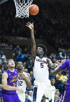 san francisco 57b85 7b0b5 College Basketball. East Carolina Pirates vs. Connecticut Huskies. Daniel  Hamilton leads the huskies to a 17