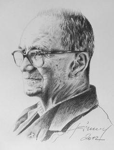 Luis Seiwald - Porträt - Bleistiftzeichnung - 2012