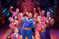 To celebrate Broadway Week in NYC, the cast of Aladdin on Broadway made a wish come true for a lucky pair of audience members.