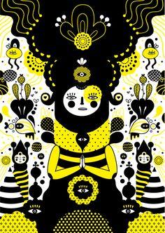 Ilustraciones Simétricas de Muxxi