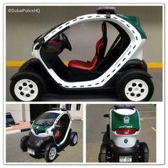 Charmant La Policía De Dubai Reduce Emisiones Con Un Renault Twizy |  CarandDriverTheF1.com