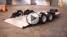 Airbagged Trailer No matter how good a product is, it can always be improved. A perfect example is this badass trailer. The Air-bagged trailer uses air