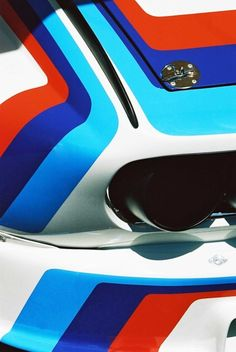 The classic BMW color design of the 70s