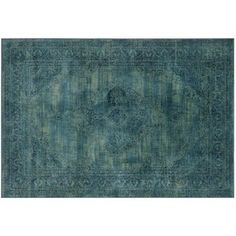Check out this item at One Kings Lane! Medlin Rug, Turquoise/Multi