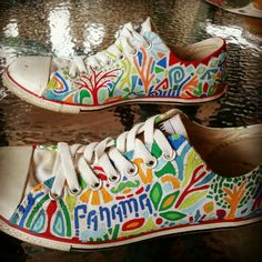 5e10446930766a 16 Best Custom Painted Converse at Sherbie Lemon images