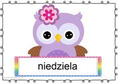 Borders And Frames, Tweety, Montessori, Hello Kitty, Owl, Kawaii, Children, Painting, Fictional Characters