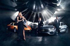 Mercedes - Champions of Fashion  Oggi Mercedes-Benz ha annunciato una spettacolare unione di talenti unici, provenienti dal mondo della moda, della fotografia e della Formula 1 per la sua Autumn/Winter 2015 fashion campaign. I protagonisti sono gli ace racer, rivali e compagni di squadra Lewis Hamilton – appena incoronato...
