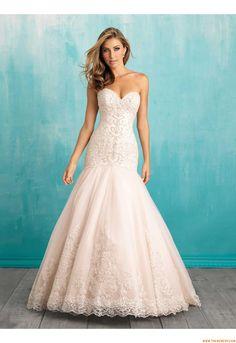 abiti da sposa da sposa sirena organza