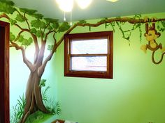 lion king baby theme   Lion King Nursery Mural   Flickr - Photo Sharing!
