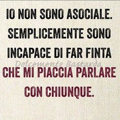 Io non sono. Tumblr Quotes, Funny Quotes, Life Quotes, The Words, Cool Words, Sarcastic Sentence, Psychology Humor, Italian Quotes, Savage Quotes