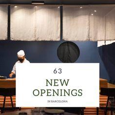 New Restaurants - Autumn 2020 — BARCELONA FOOD EXPERIENCE Tapas Menu, Lunch Menu, Nutella Rolls, Garden Pizza, Barcelona Food, Burger Restaurant, Craft Beer, Restaurants, Autumn