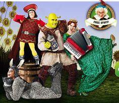 Shrektober promotion for Shrek the Musical on Broadway