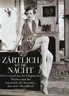 Kristen McMenamy by Arthur Elgort for Vogue Germany January 1995