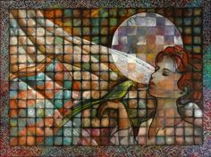 Brenda Drake. Can I do this on my patio table as a mosaic. I really love this whole thing.