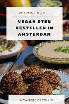 Vegan eten bestellen in Amsterdam: de beste opties op een rij! | hummus in amsterdam - Hummus bistro D&A - Sir Hummus - vegan in amsterdam bestellen - veganistisch in amsterdam - amsterdam veganistisch - amsterdam vegan food - amsterdam vegan restaurant - vegan restaurants in Amsterdam - best vegan restaurants Amsterdam - amsterdam vegan breakfast - amsterdam vegan junk food - amsterdam vegan hotspots - hotspot - plantbased amsterdam #amsterdam #veganamsterdam #amsterdamvegan… Breakfast Amsterdam, Chia Pudding, Junk Food, Sushi, Restaurant, Salads, Chia Pudding Breakfast, Restaurants, Dining Rooms