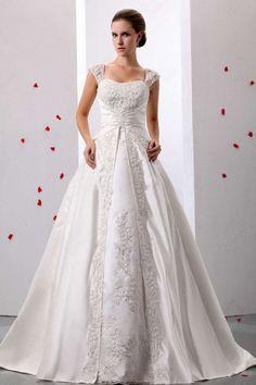 A-line Off-the-shoulder Wedding Dress