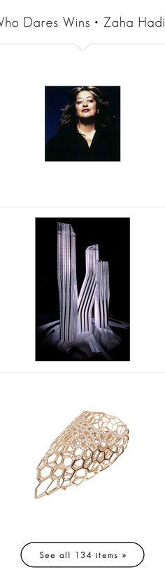 """Who Dares Wins • Zaha Hadid"" by pinkredandviolet ❤ liked on Polyvore featuring London, zaha, shoes, melissa, architecture, miljööt, editorials, zaha hadid, home and kitchen & dining"