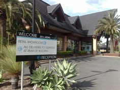 Welcome your clients or suppliers with a sign like this