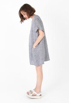 Primoeza Jane Pocket Dress in Indigo