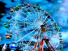 Ride It  art print photograph with red ferris wheel by HopiHandArt, $8.99