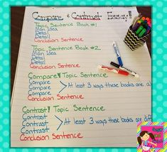 Types of Papers: Compare/Contrast
