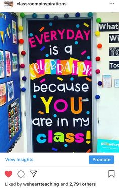 This most beautiful classroom door is from ! She used a door décor set from . Her décor sets are pretty amazing so I hig This most beautiful classroom door is from ! She used a door décor set from . Her décor sets are pretty amazing so I hig. Classroom Door Displays, Classroom Board, New Classroom, Classroom Themes, Classroom Door Quotes, Star Themed Classroom, Chalkboard Classroom, Back To School Bulletin Boards, Classroom Design