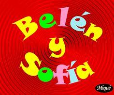 Belén y Sofía, protagonistas de esta historieta animada se pelean porque Belén agrede a Sofía
