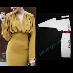 """Empire bodysuit for a while, we swear!) ITA➡️per…"""" - ITA,RUS⬇️to draft this pattern, start from a basic block with ease allowance (no more bodysuit - Pattern Draping, Bodice Pattern, Sleeve Pattern, Pants Pattern, Diy Clothing, Sewing Clothes, Fashion Sewing, Diy Fashion, Ladies Fashion"""