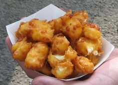 Minnesota State Fair cheese curds. best things ever!!!