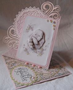 Beautiful easel card