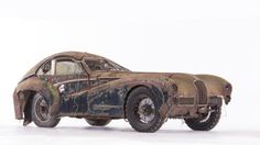 Talbot Lago T26 Grand Sport SWB par Saoutchik This pile of rust and dust just sold for $1.9 million