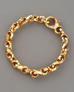 Mens Gold Bracelets, Bangle Bracelets With Charms, Gold Bangle Bracelet, Link Bracelets, Chanel Bracelet, Necklaces, Jewelry Gifts, Gold Jewelry, Jewelery
