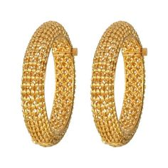Magnificent Gold Bangles2045 Antique Jewelry, Gold Jewelry, Jewellery, Gold Bangles Design, Jewelry Design, Gold Bangle Bracelet, Indian Jewelry, Wedding Jewelry, Jewelry Collection