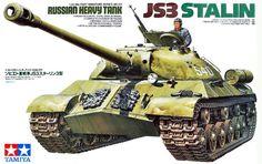 TAMIYA 1/35 Russian Heavy Tank JS3 STARIN