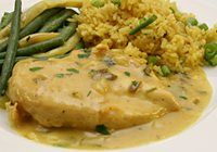 Coconut Curry Chicken Breasts - Diana Rattray