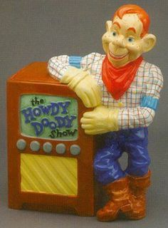 Howdy Doody Limited Edition of 1000 Cookie Jar made in China by Treasure Craft Cow Cookies, Kinds Of Cookies, Spice Cookies, Biscuit Cookies, Antique Cookie Jars, Ceramic Cookie Jar, Howdy Doody, Vintage Cookies, Tea Pots