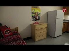 YouTube tour Dorm Life, Temple, College, Storage, Youtube, House, Home Decor, Homemade Home Decor, University