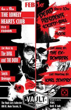 Lonely Hearts Club / Dead Presidents-ZacAtkinson