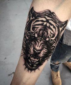 Excellent tiger ideas - Part 4 - Tattooimages.biz