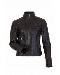 Custom Icon Leather Motorcycle Jackets Women - Andaman